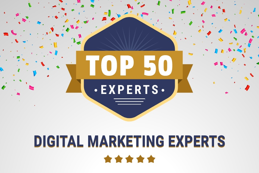 50 Digital Marketing Experts in the world 2021 [Original]
