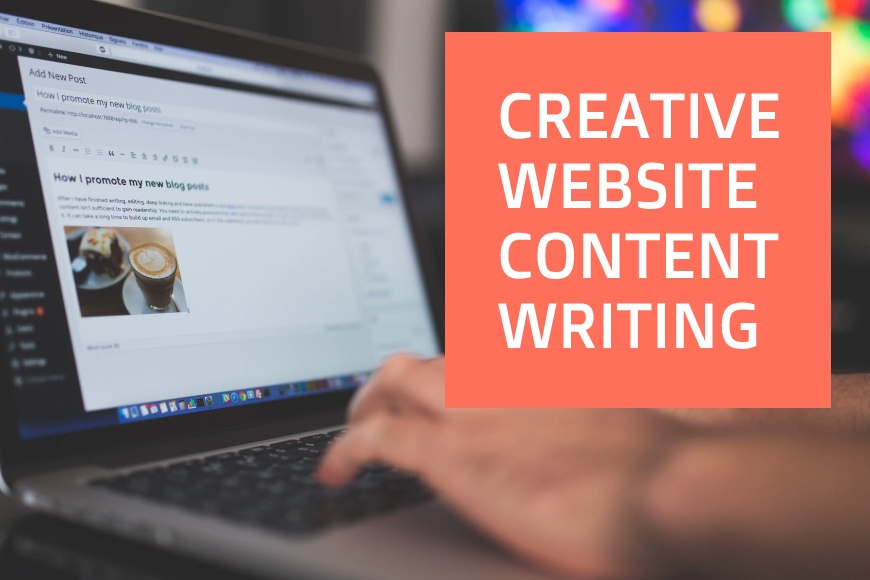 How to write creative website content that appeals and sells